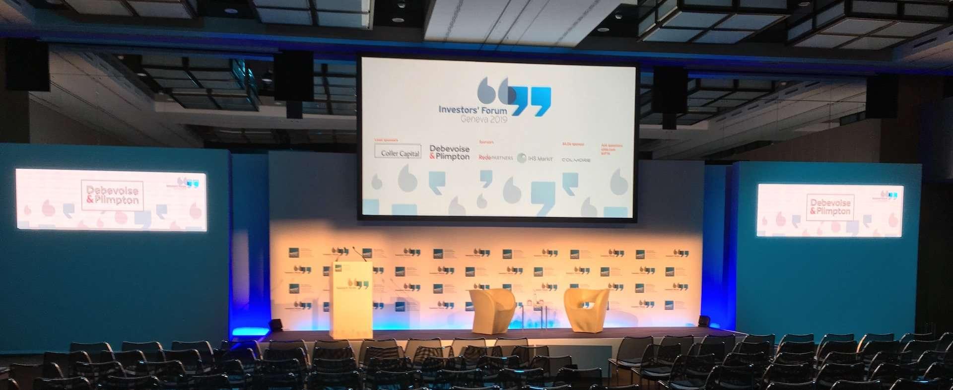 ' Investor's Forum 2019 ' in Genève